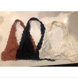 Free people bralette bundle